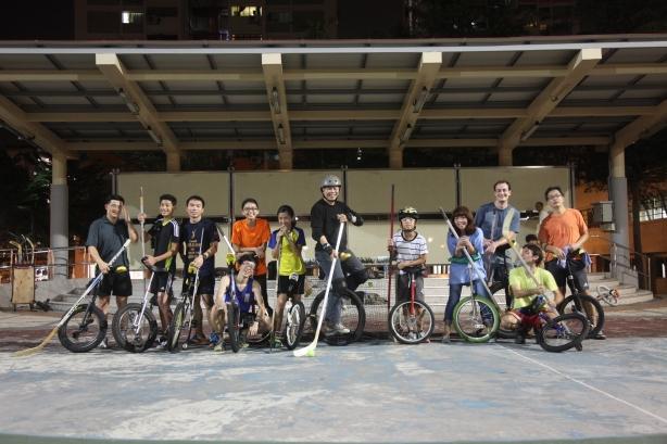 Singapore Unicyclists